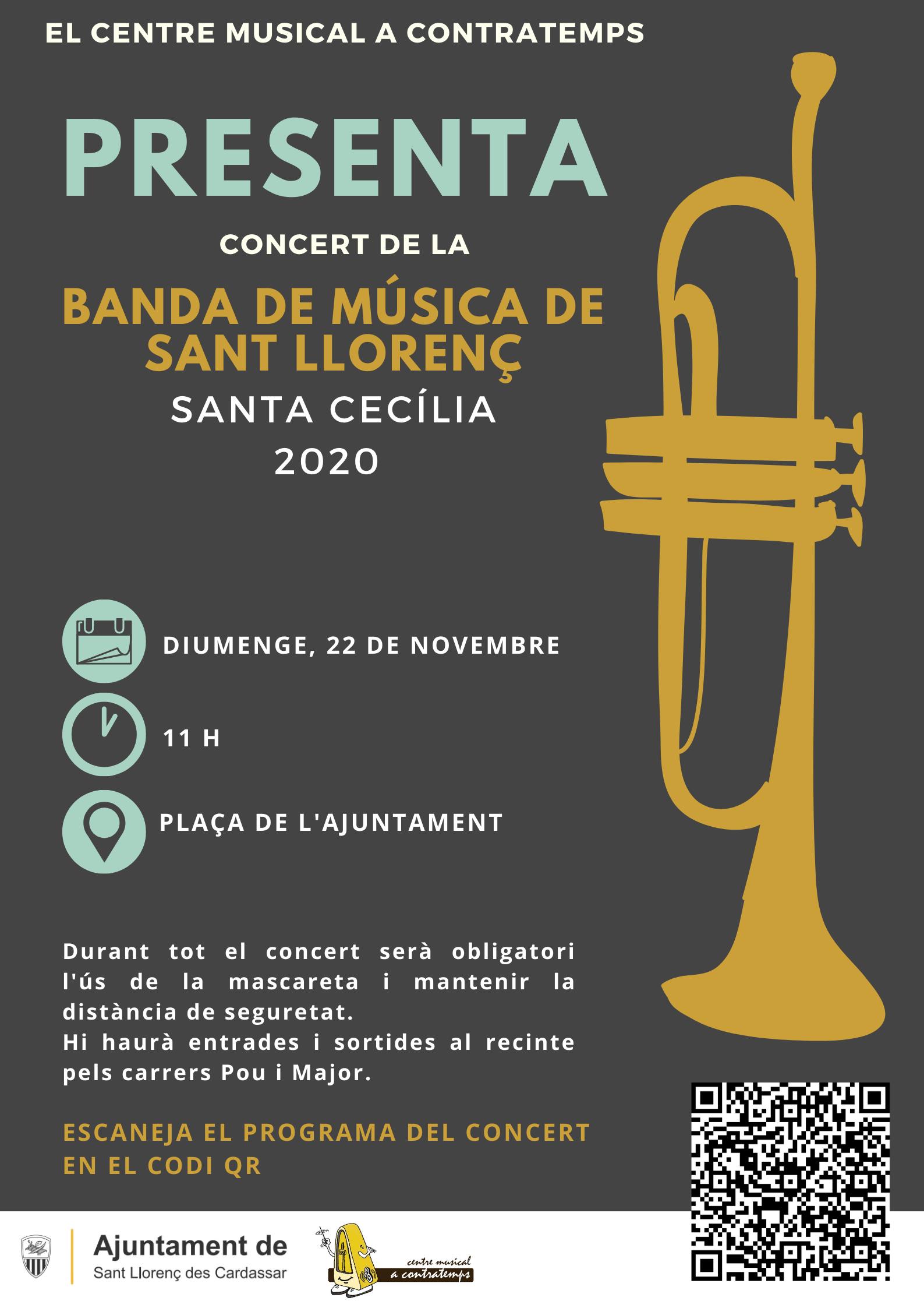 Concert Santa Cecília 2020
