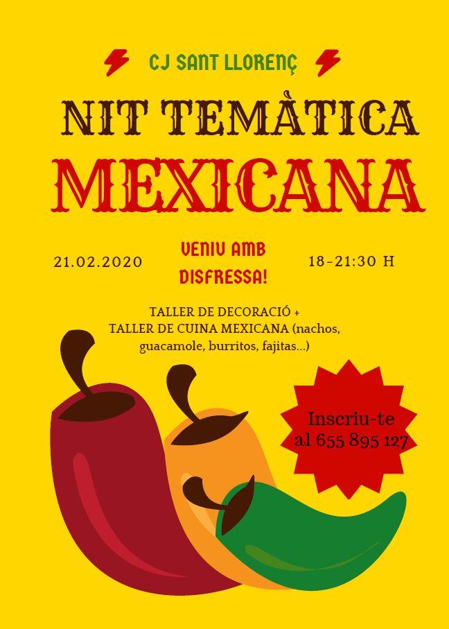 Nit temàtica mexicana