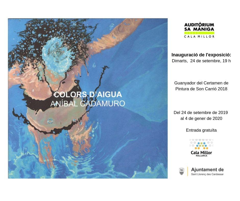 Inauguració de l'exposició: Colors d'aigua